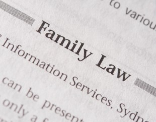 Family Law Paperwork like this stack of papers can use the help of Maryland Attorneys to fill out and submit