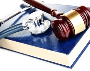 Stethoscope and gavel represent the help you will receive from Medical Malpractice Attorneys in Maryland